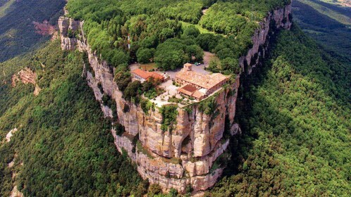 Church atop the Santuari Del Far in Spain