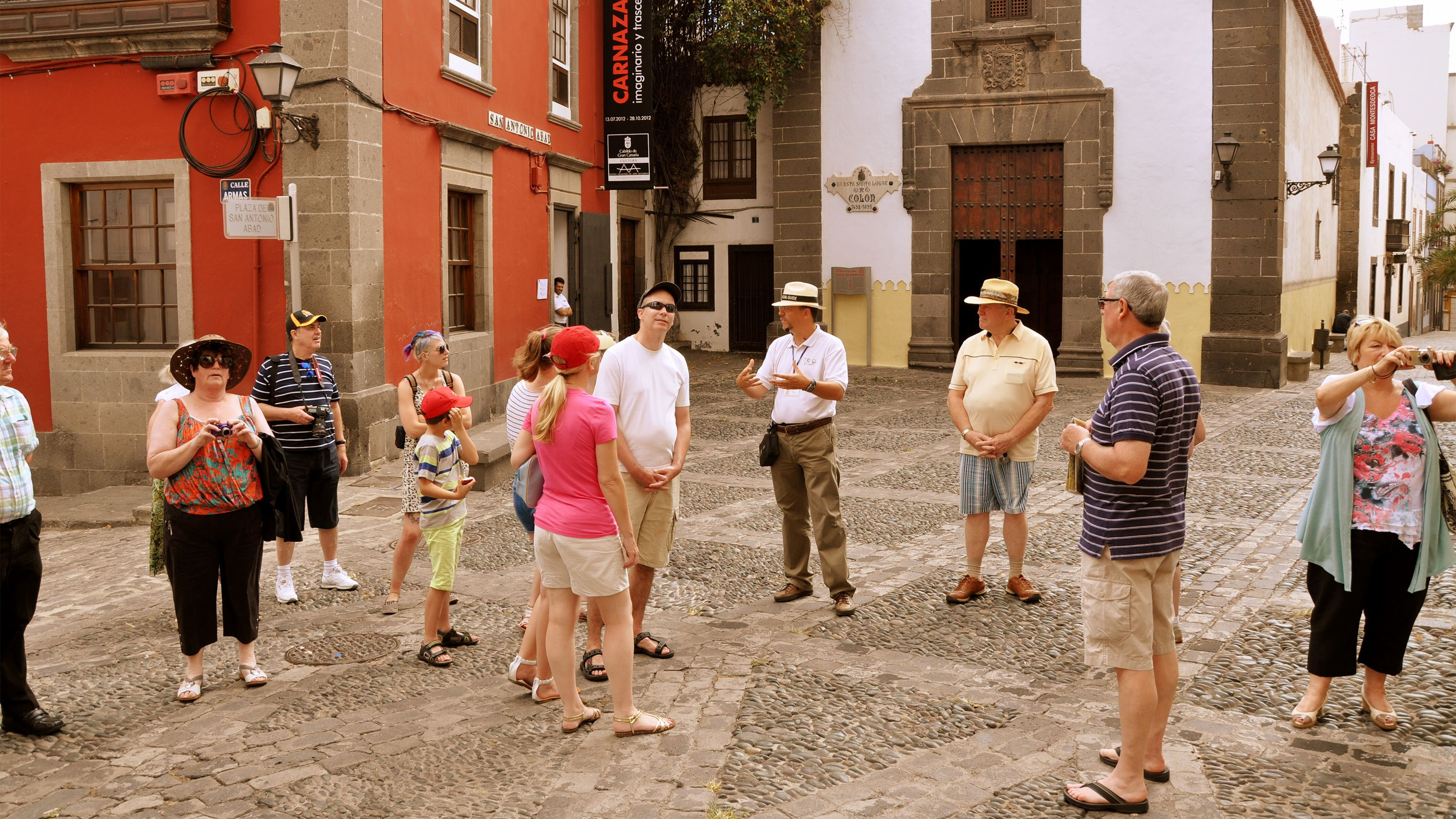 Tur i gamlebyen med Columbus-museet