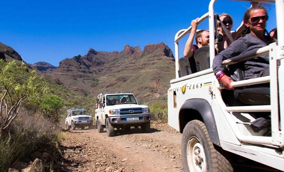 Foto 3 von 8 laden Jeep Tour & Beach El Cotillo, northern Fuerteventura
