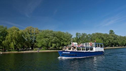 Cruise boat near Toronto