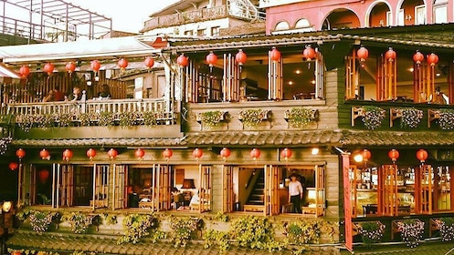 View of a restaurant in New Taipei City