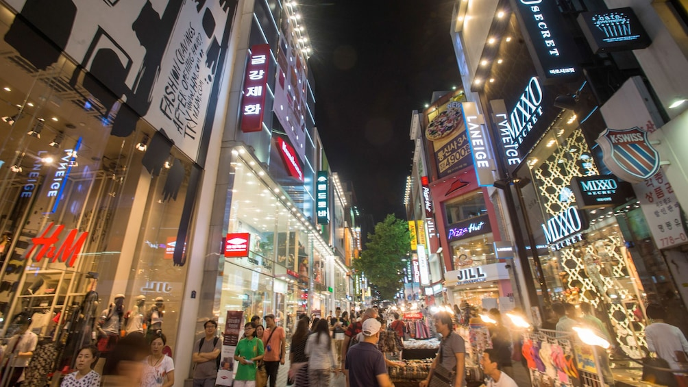 Foto 2 von 5 laden Downtown Seoul at night