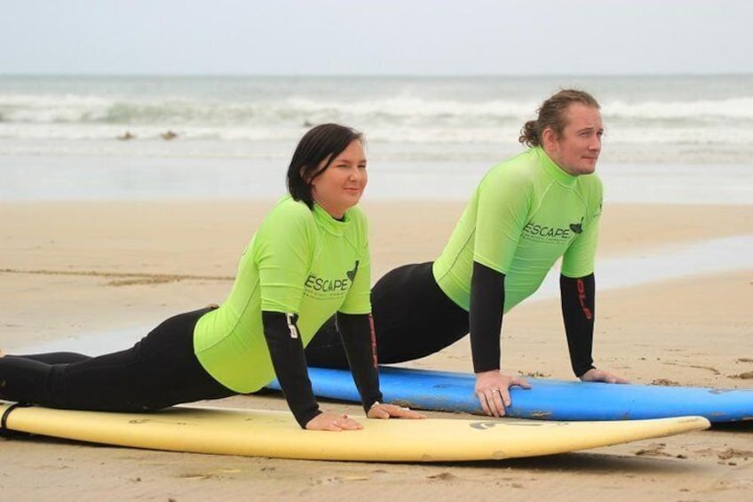 Two On One surf lesson