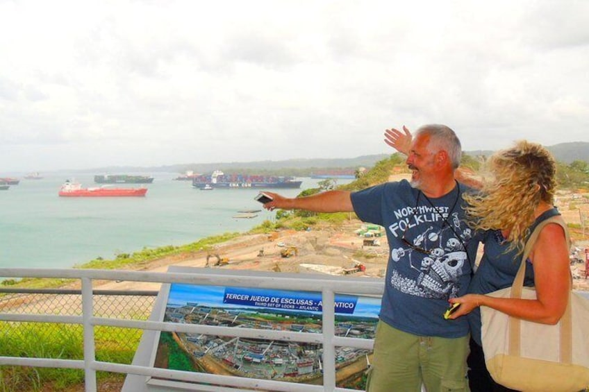 Combination Tour from Panama City: Rainforest, San Lorenzo Fort and Canal Expansion