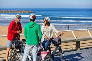 Excursión en bicicleta en grupos pequeños por San Sebastián