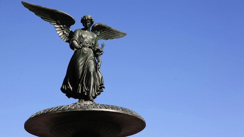 Statue at Central Park