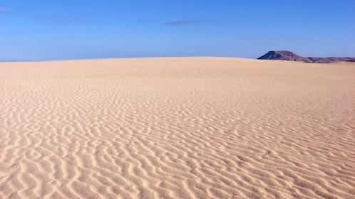 Desert sand in Lanzarote