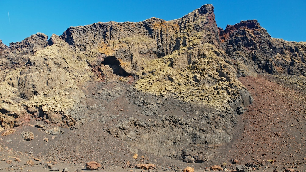 Show item 10 of 10. Dry rocky landscape in Lanzarote