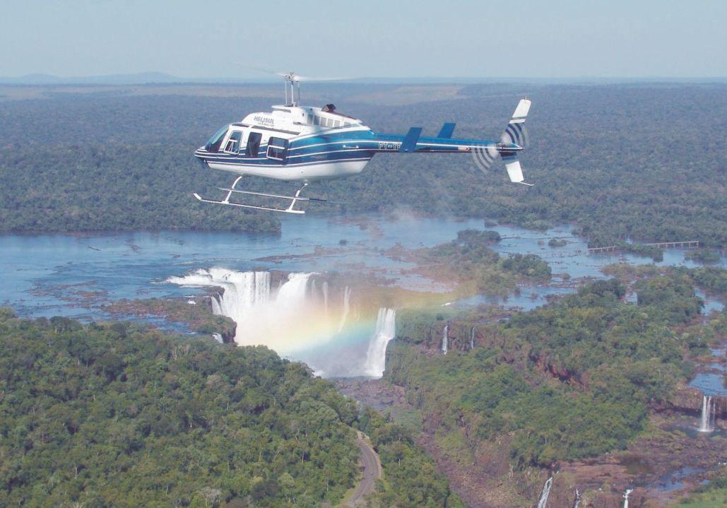 Tours aéreos, en globo y en helicóptero