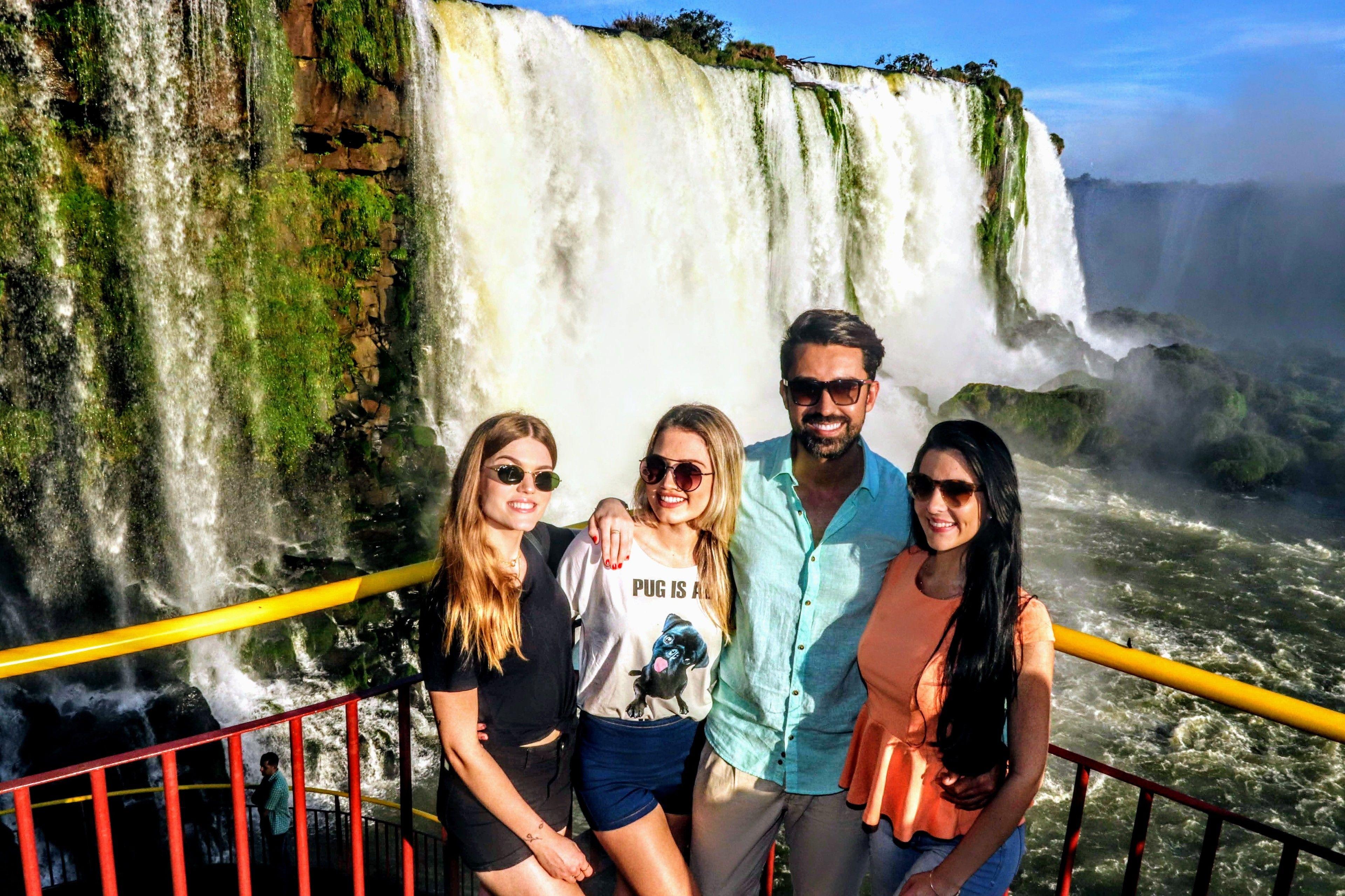 Cataratas do Iguaçu no lado do Brasil