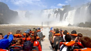 Iguazu Falls Argentina Side with Boat Cruise & Train Ride