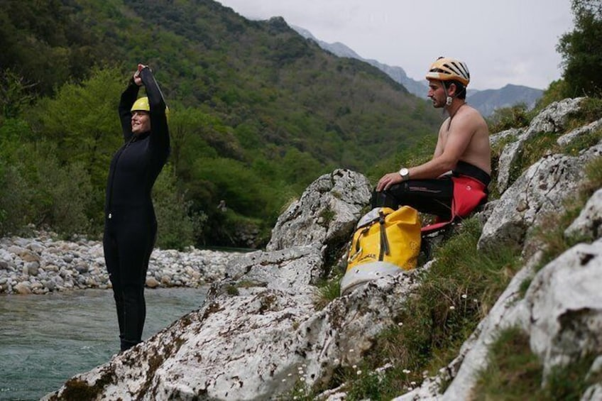 Show item 1 of 6. Canyoning Cabrales