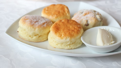 Fresh scones at the E&O Hotel in Penang