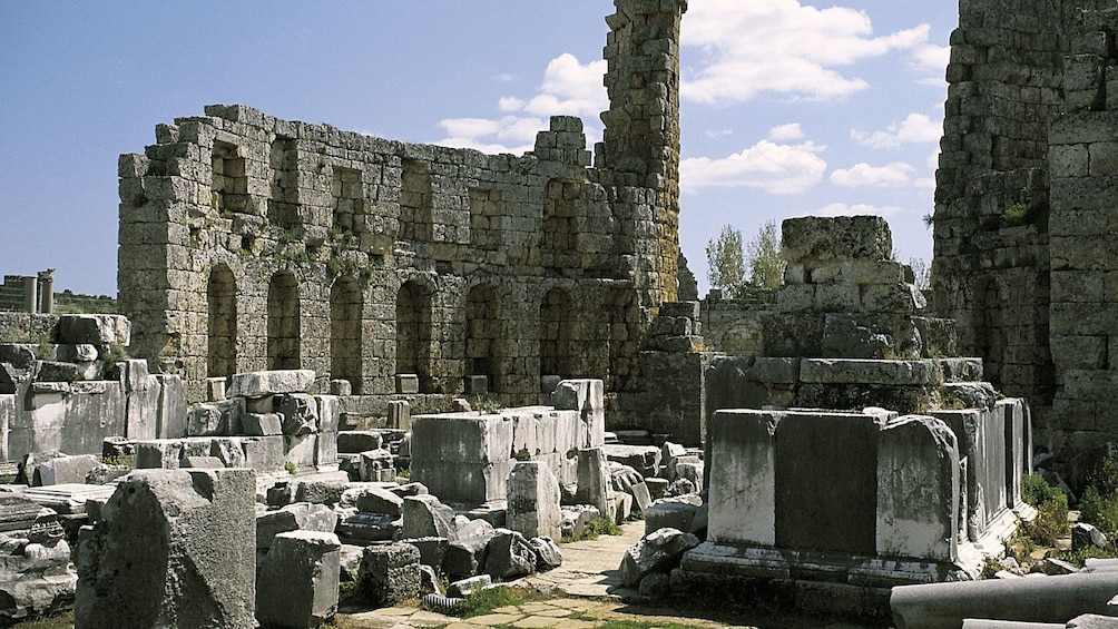 Show item 5 of 5. The ruins of Perge