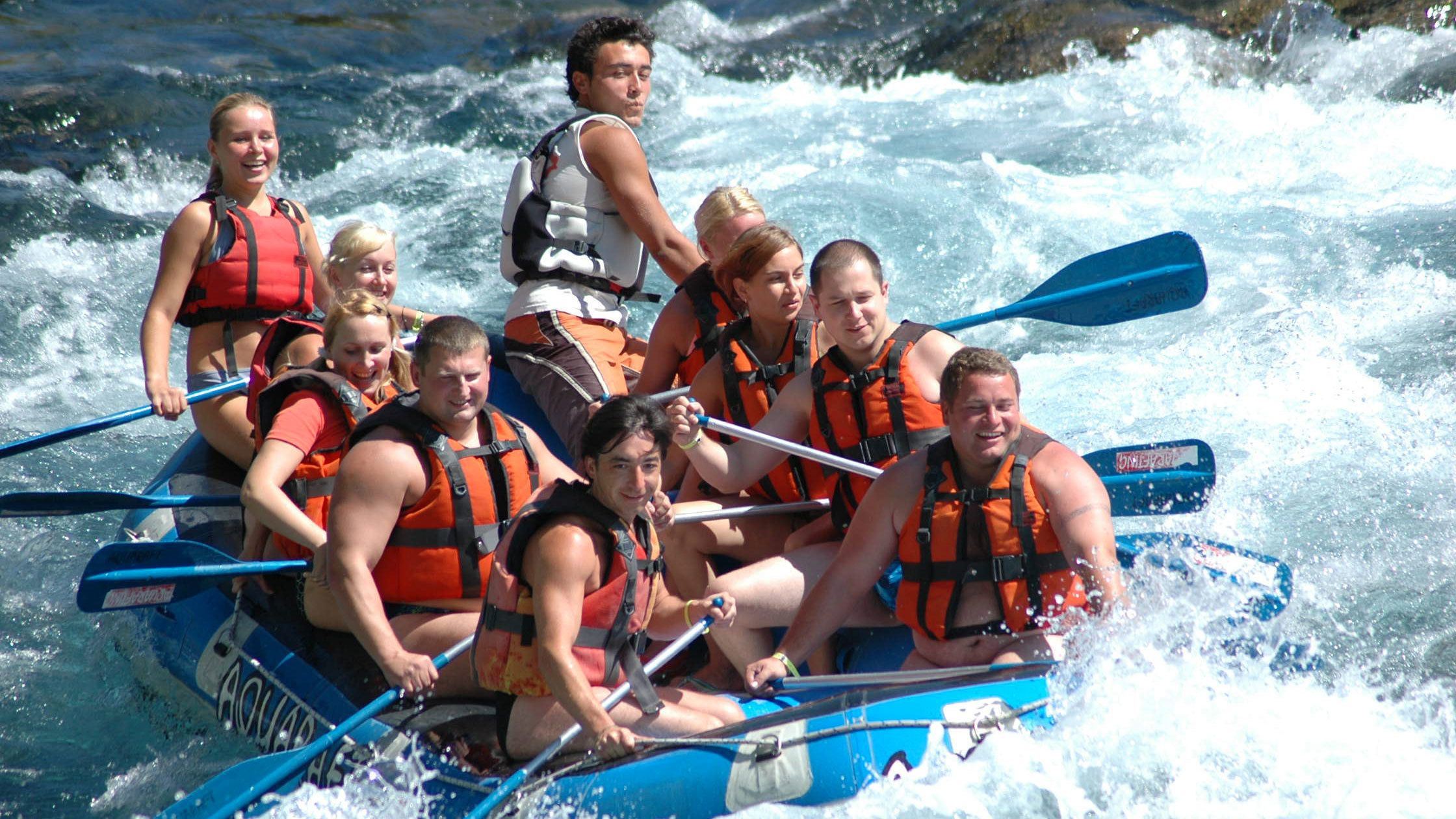 Koprulu Canyon Full-Day Rafting Experience