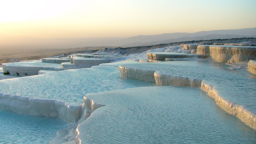 Show item 5 of 5. Pools of water at Pamukkale