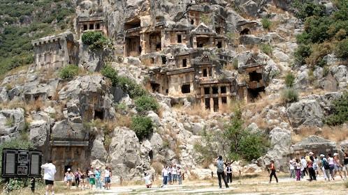 Myra Rock Tombs in Demre