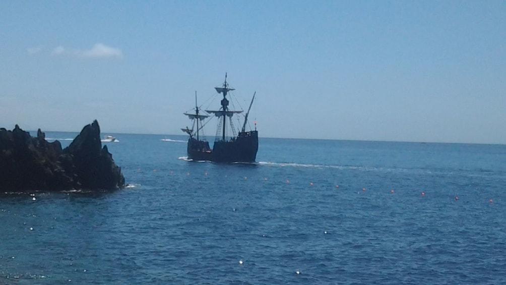 Show item 4 of 5. Nau Santa Maria ship in Madeira