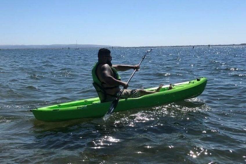 Show item 1 of 5. Eco Kayak Tour of the San Diego Bay