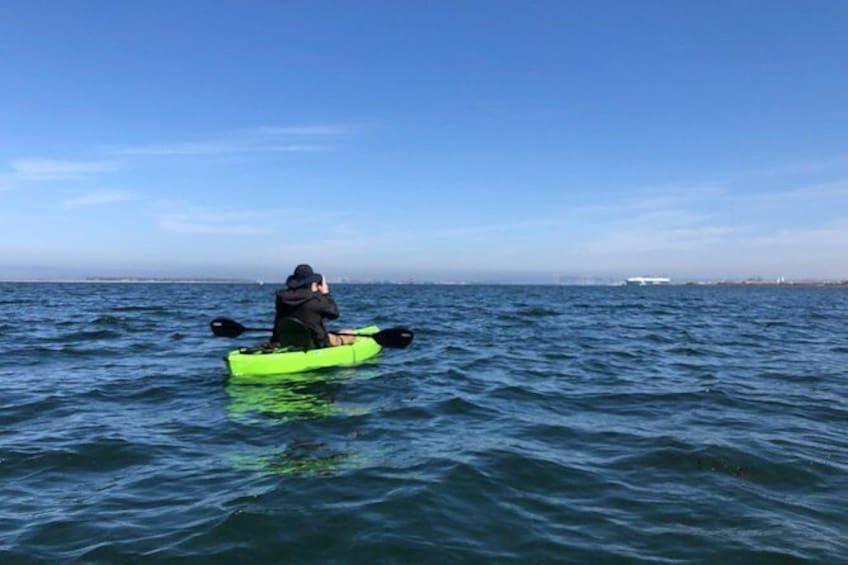 Show item 4 of 5. Eco Kayak Tour of the San Diego Bay