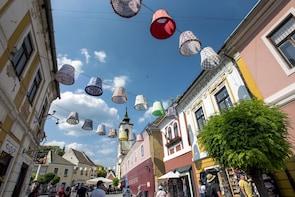 Dagstur til Donauknæet og Esztergom, Visegrád og Szentendre