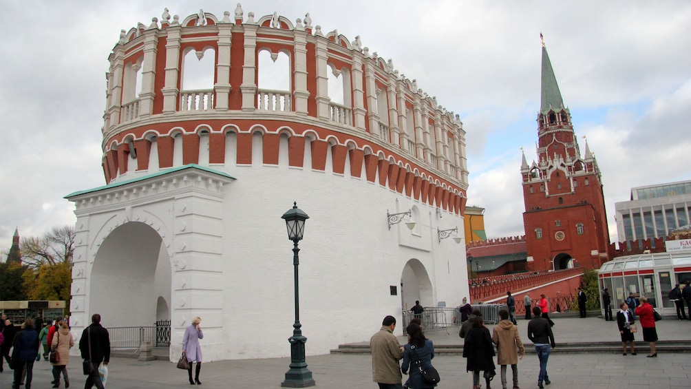 Show item 2 of 5. Exterior of a historical building in moscow