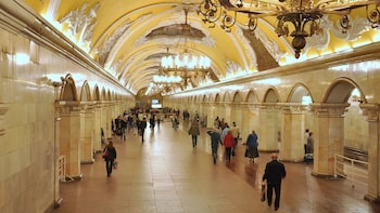 Moscow Metro Guided Tour with Transport Tickets