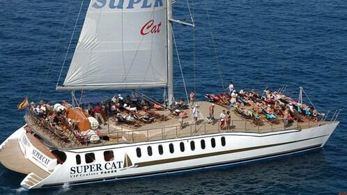 A Supercat Boat in Gran Canaria
