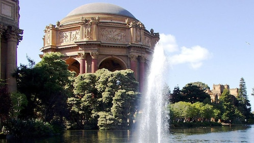 fountain near the Palace of Fine Arts Theatre in San Francisco