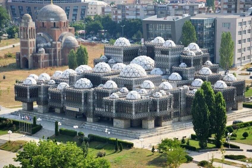 The Library in Pristina