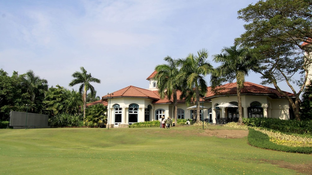Pun Hlaing Golf Clubhouse in Myanmar