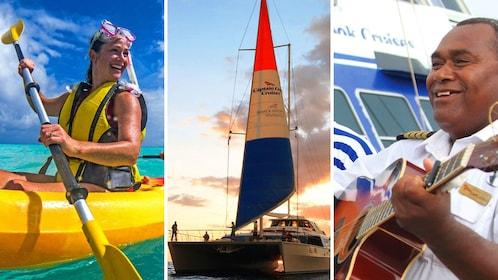 Kayak, Catamaran, and Singer combo