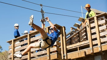 Catalina Island Zip line Tour with Roundtrip Transfers