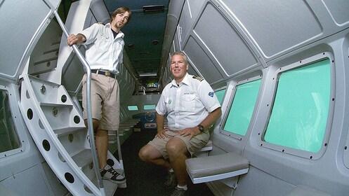 crew members of the ocean vessel at Catalina Island