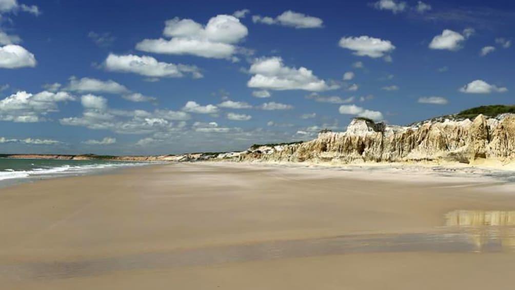 Show item 4 of 10. Beach view of Canoa Quebrada