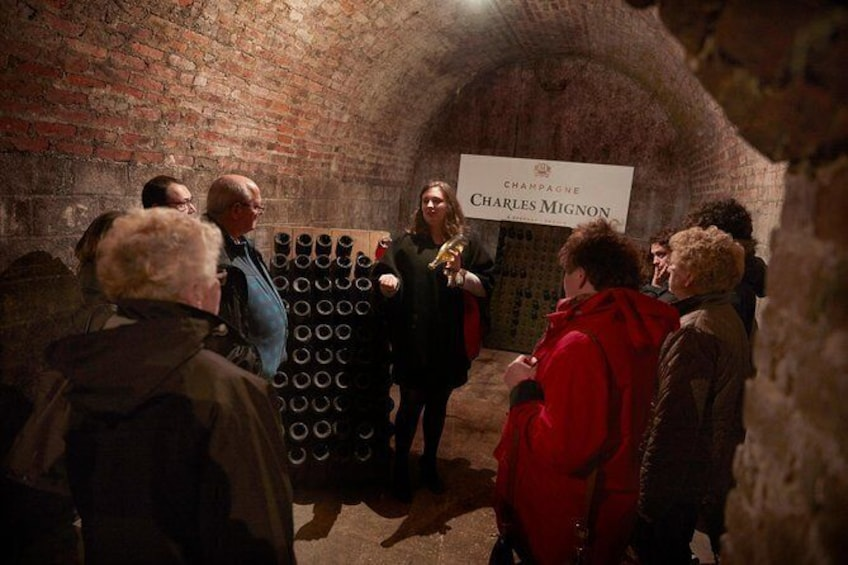 Show item 3 of 8. Vaulted cellars