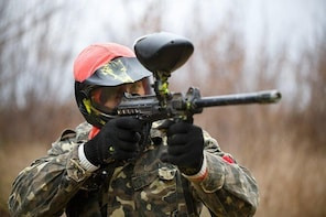 Paintball in Finnish forest (Basic package)