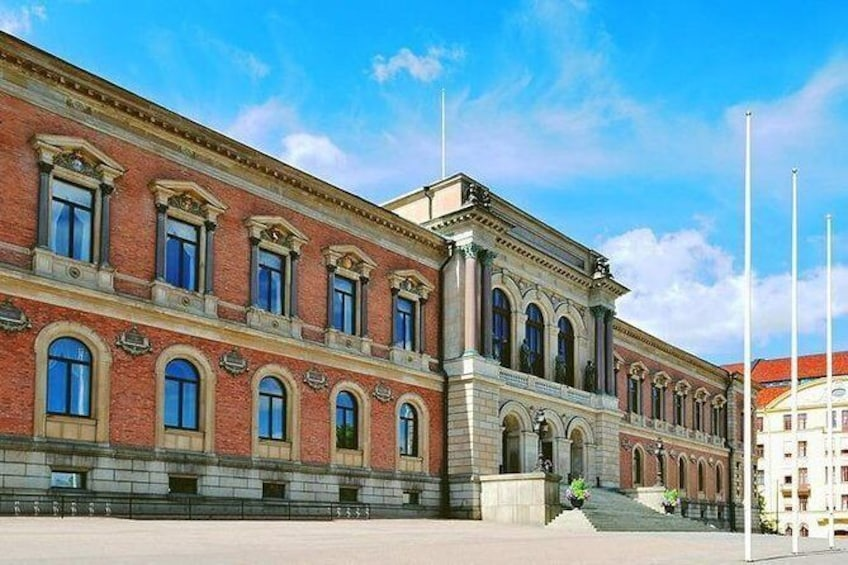 Show item 2 of 6. Uppsala Old University