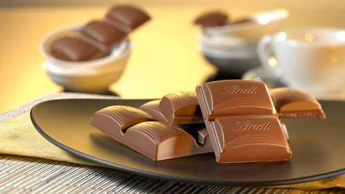 Lindt swiss chocolate in Zurich