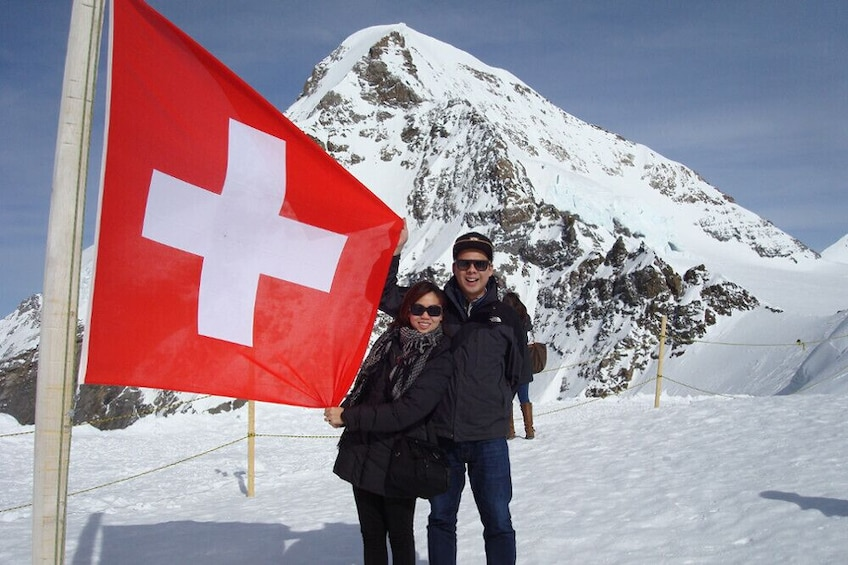 Show item 3 of 9. Jungfraujoch: Top of Europe Tour from Zurich