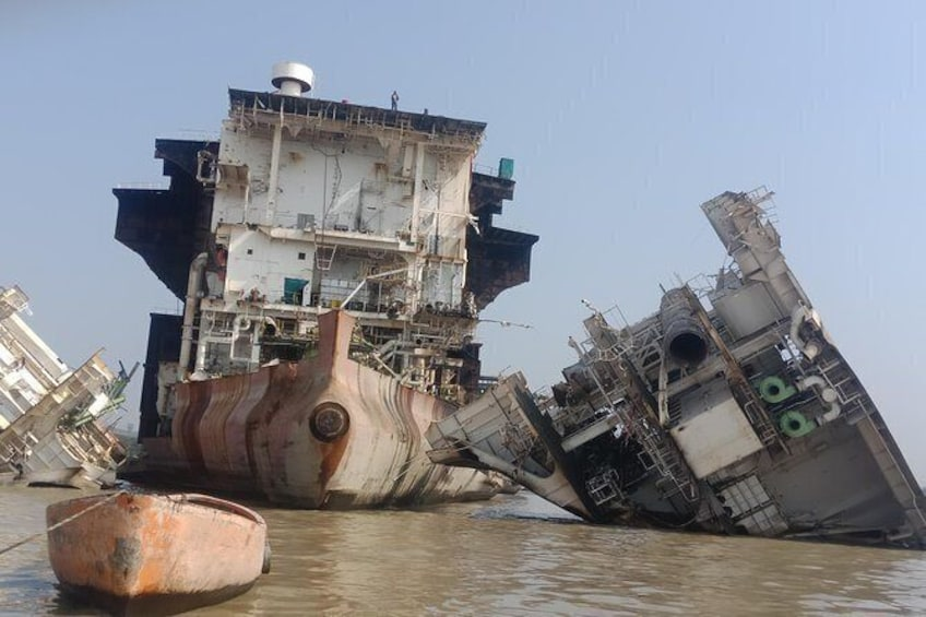Explore Ship Breaking Yard tour including Chittagong City Tour