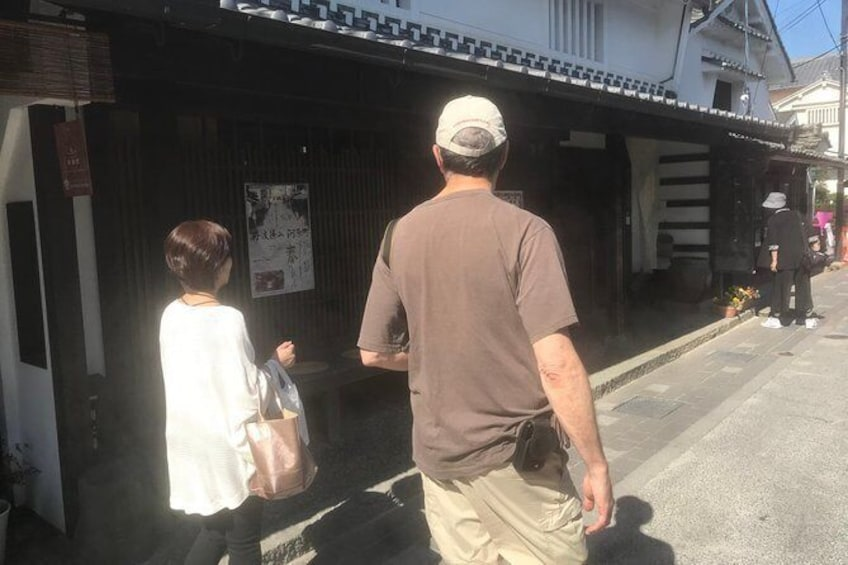 """Show item 5 of 12. Japanese traditional craft """"stand pile burning experience"""" and sightseeing in Tamba Teiyama (Shukura tour, castle, castle town)"""
