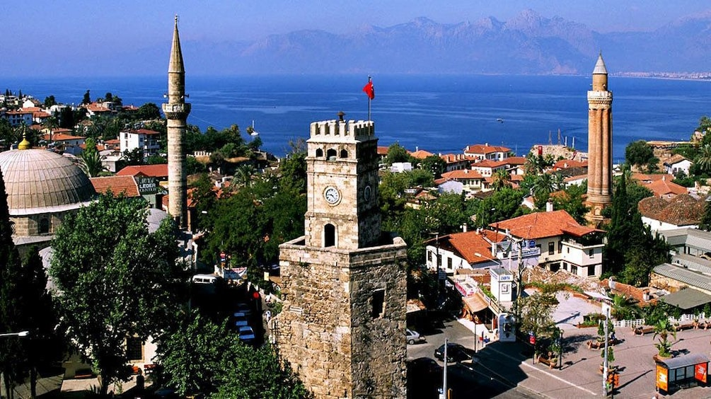 Show item 2 of 5. Ancient towers in Antalya