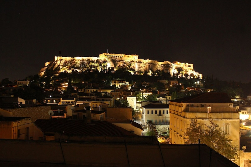 Foto 5 von 10 laden Athens Cooking Class with Acropolis Views rooftop dinner