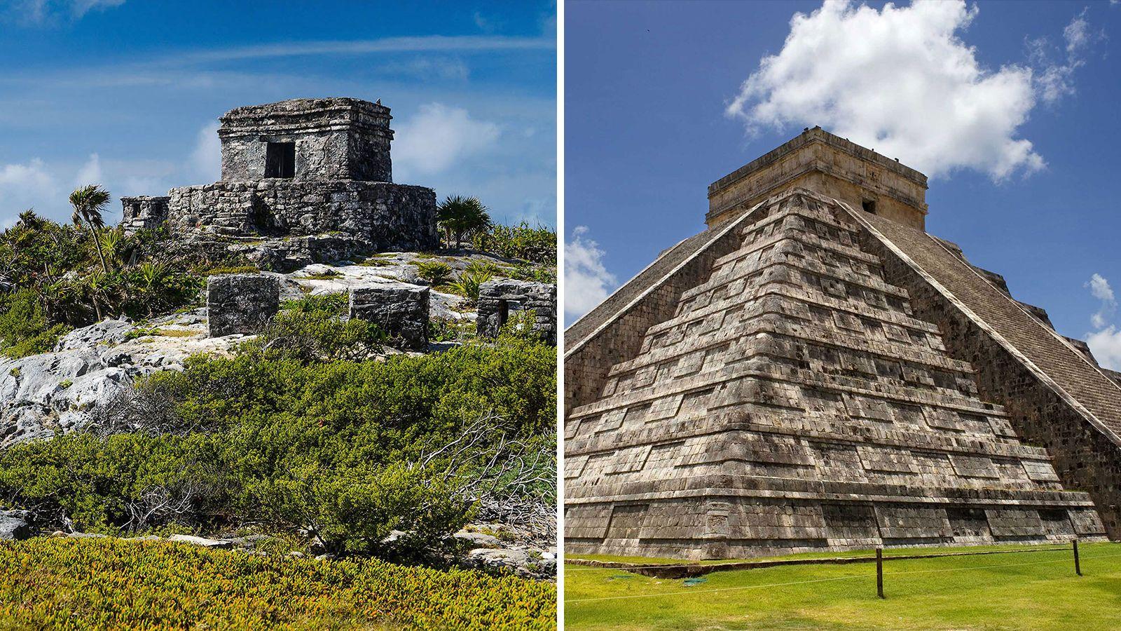 2-in-1 Combo Tour: Chichén Itzá & Tulum Express