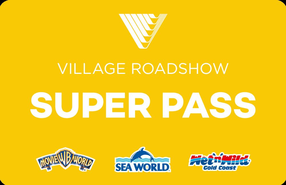 7-Day Super Pass: Movie World, Sea World & Wet'n'Wild Water World