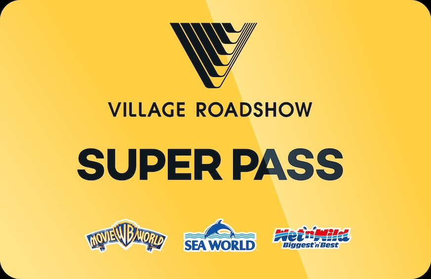 Show item 1 of 10. 7-Day Super Pass: Movie World, Sea World & Wet'n'Wild