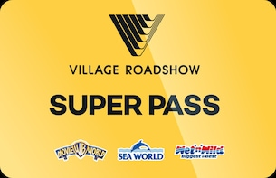 Tarjeta Super Pass de 7 días: Movie World, Sea World y Wet'n'Wild