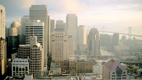 Breathtaking cityscape of San Francisco on a sunny day