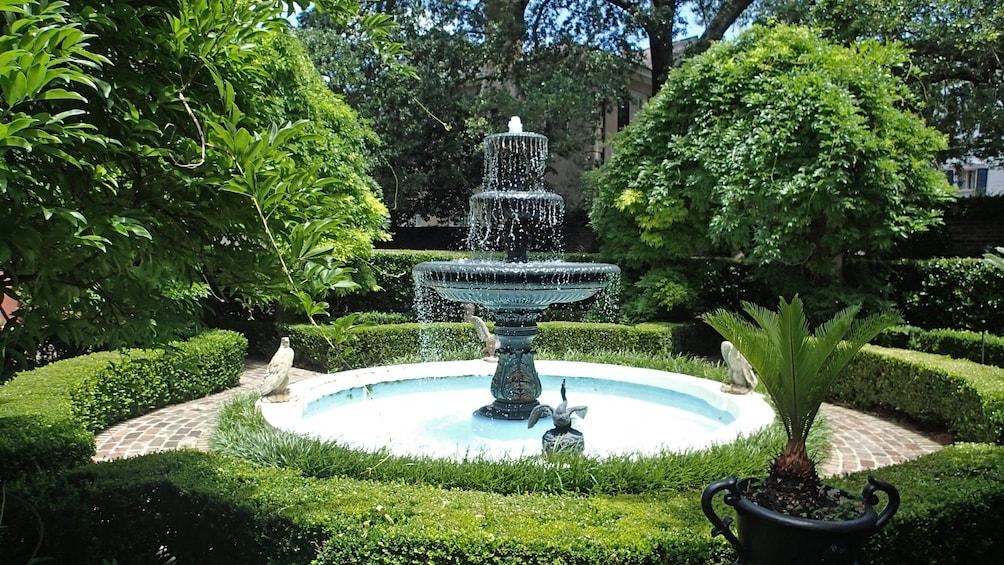 Show item 3 of 5. Fountain in Savannah